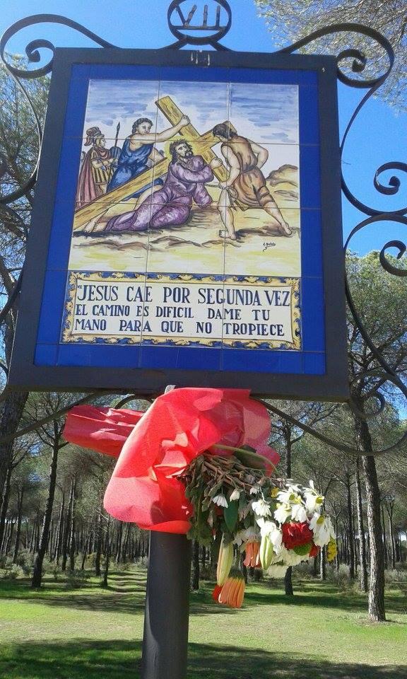 Via Crucis almonte-Rocio-7