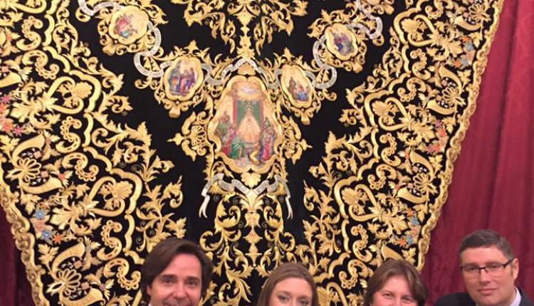 X Aniversario del Círculo de Pasión – Nuevo Manto de la Virgen del Rocío de la Hdad. de la Redención