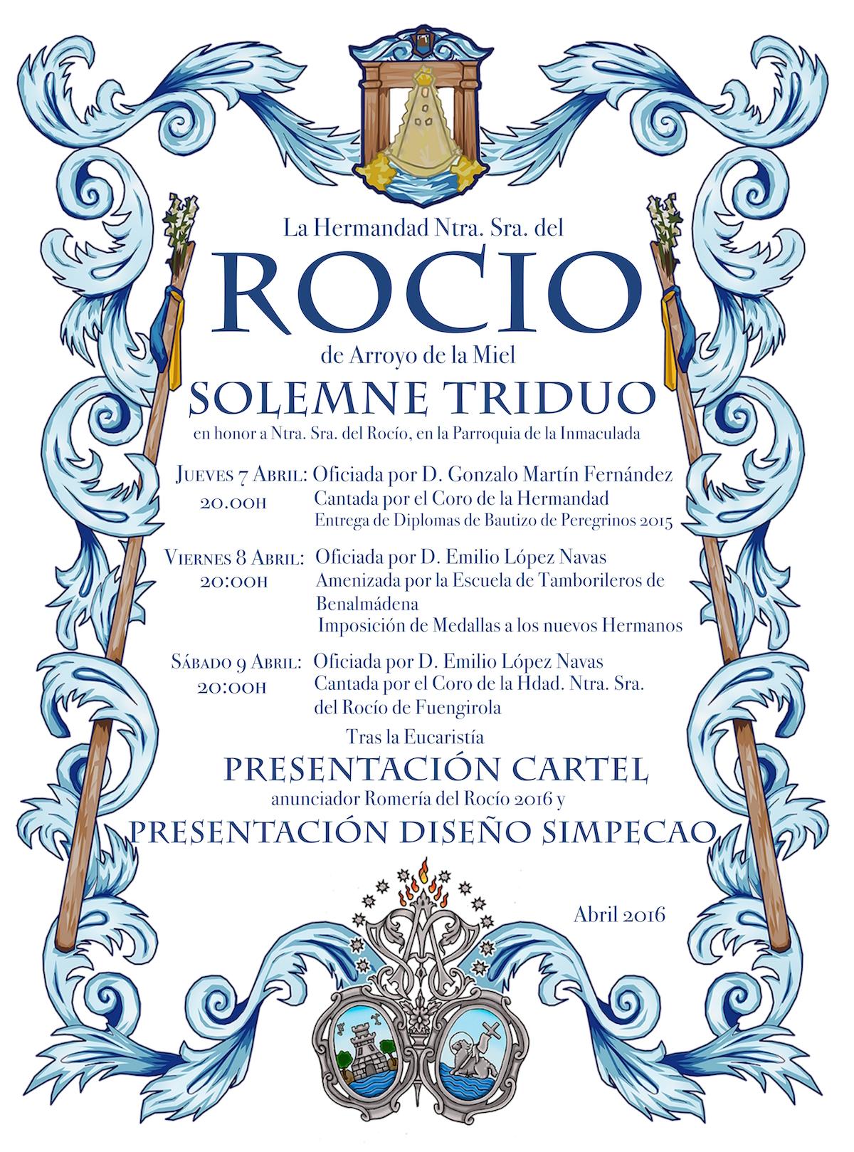 Arroyo de la Miel Triduo Rocío 2016
