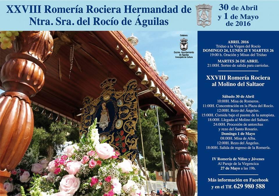 Aguilas romeria 2016
