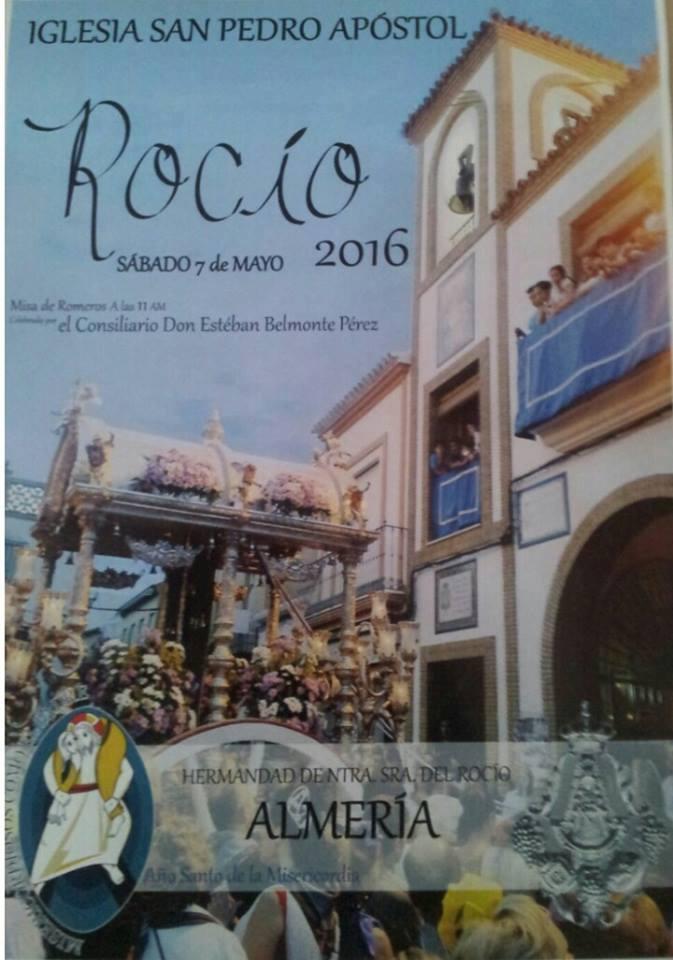 Almeria cartel rocio 2016
