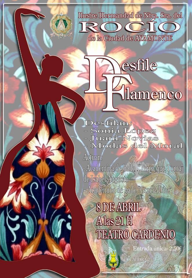 Ayamonte desfile flamenco 2016