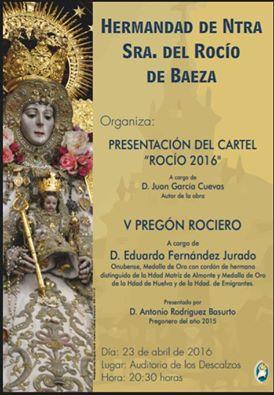 Baeza cartel 2016
