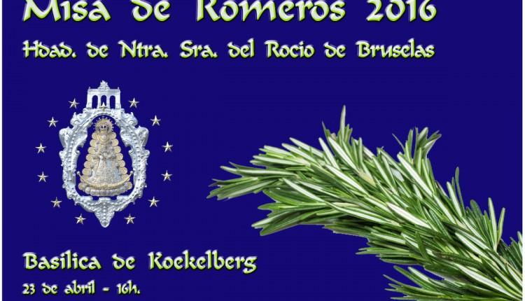 Hermandad de Bruselas – Misa de Romeros 2016