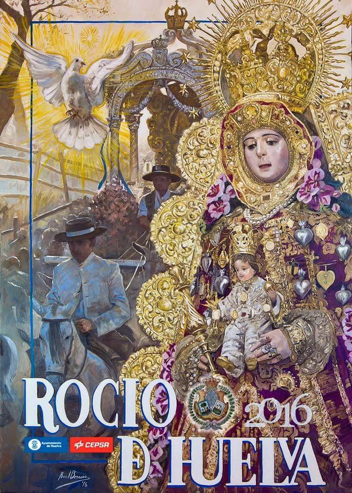 Cartel Rocio Huelva 2016