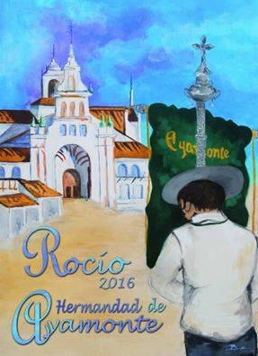 Cartel rocio Ayamonte 2016