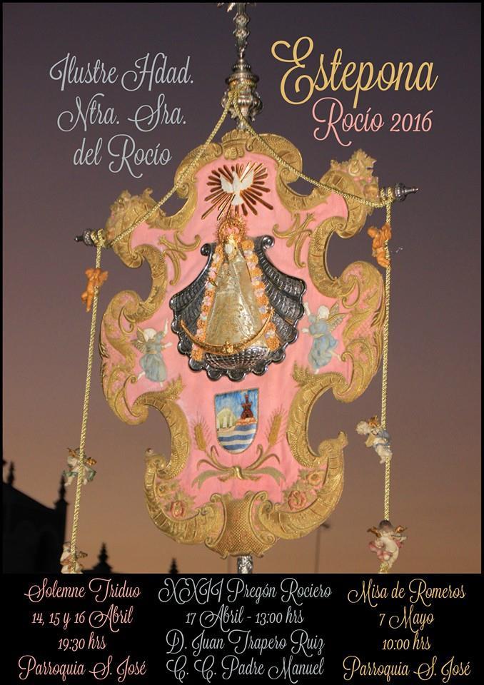 Cartel rocio Estepona 2016