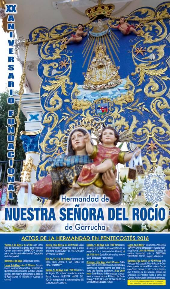 Garrucha cultos rocio 2016