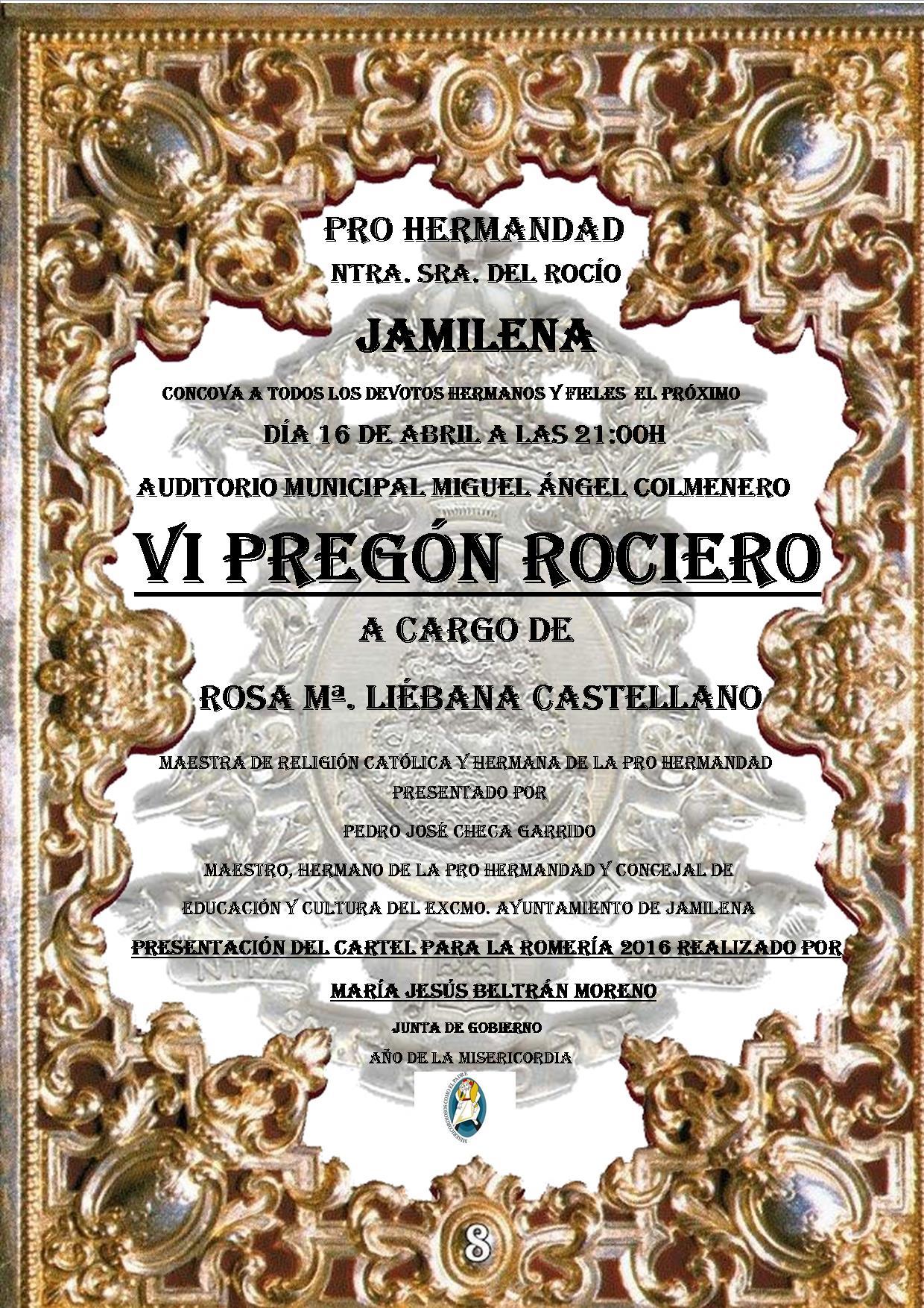 Jamilena -actos y PREGÓN 2016-B