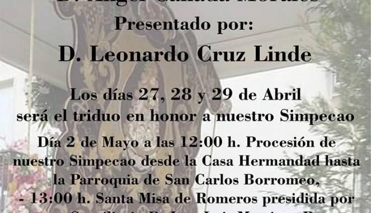 Hermandad de La Carolina – XIII Pregón Rociero a cargo de Ángel Cañadas Morales