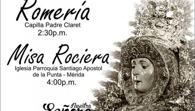Asociación Rociera de Mérida – Romería y Misa Rociera
