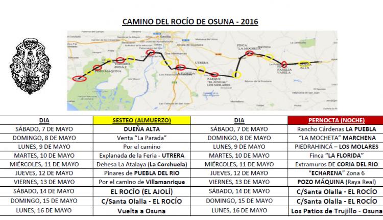 Hermandad de Osuna – Camino del Rocío 2016