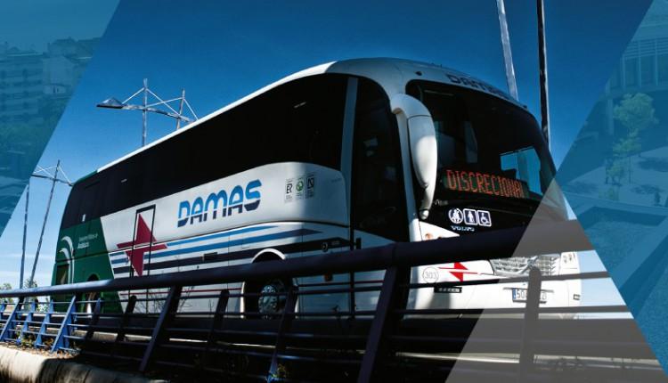 Horarios de Autobuses Damas para la Romería del Rocío 2016