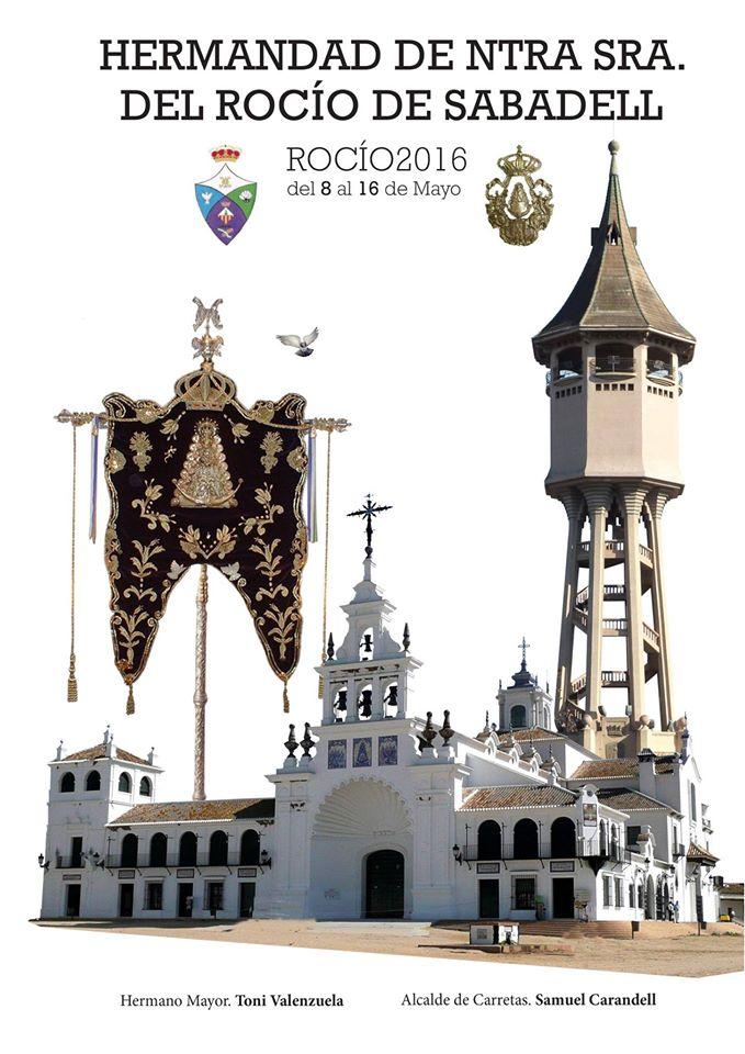 Sabadell cartel rocio 2016-2