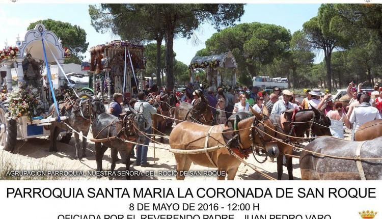 Agrupación Parroquial de San Roque – Solemne Misa de Romeros y Pregón del Rocío a cargo de D. Faustino Rejo