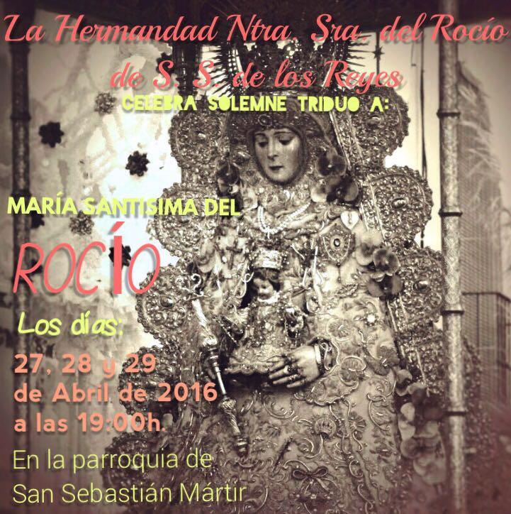 San Sebastina de los Reyes Triduo 2016