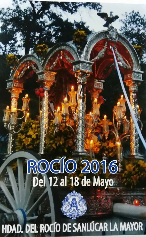 Sanlucar la mayor cartel rocio 2016