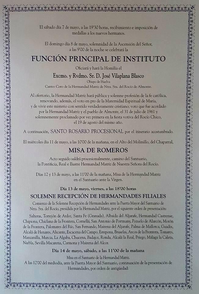 programa rocio 2016 -2