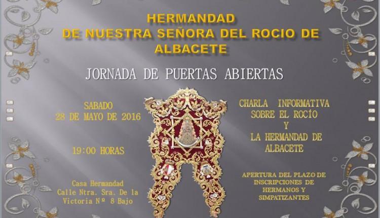 Hermandad de Albacete – Jornadas de Puertas Abiertas