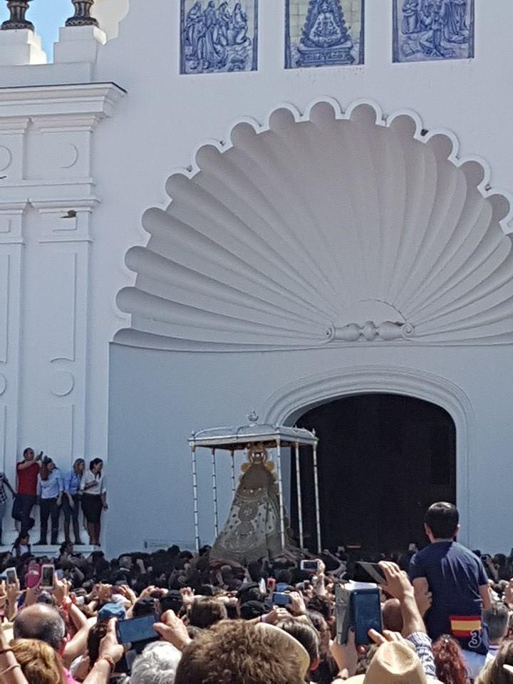 Despedida procesion Virgen 2016-2