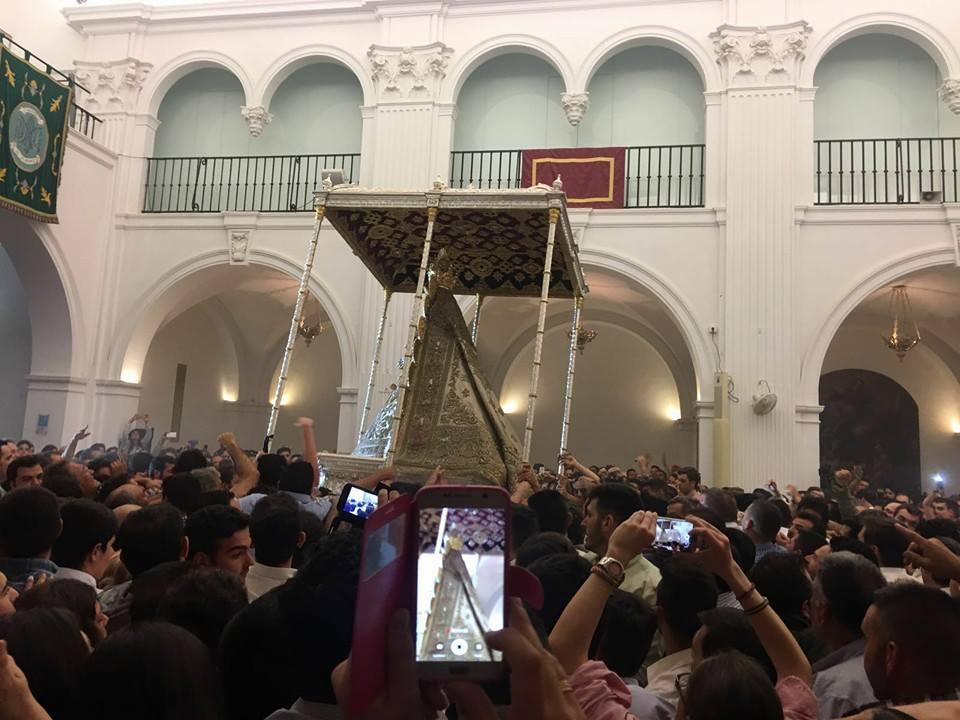Despedida procesion Virgen 2016-3