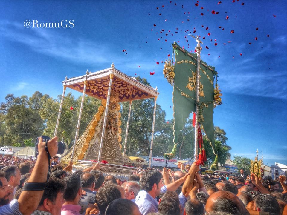 Gines procesion Virgen 2016-2