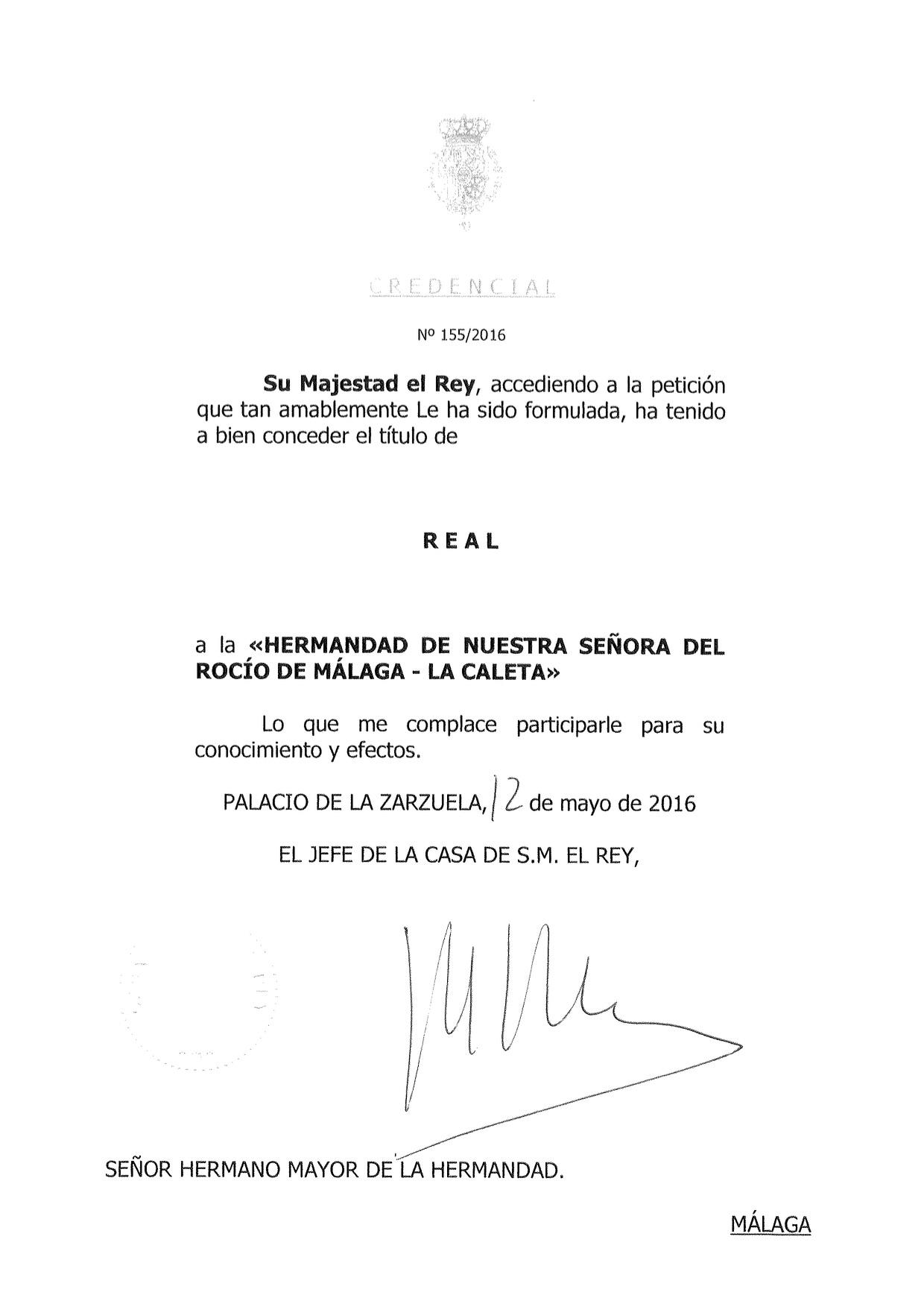 La Caleta Real Carta y credencial-1