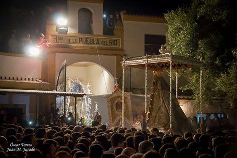 La Puebla procesion Virgen 2016-1