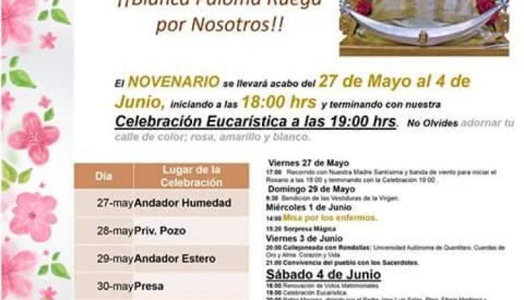 Fiesta Patronal Ntra. Sra. del Rocío en Queretaro- Mejico