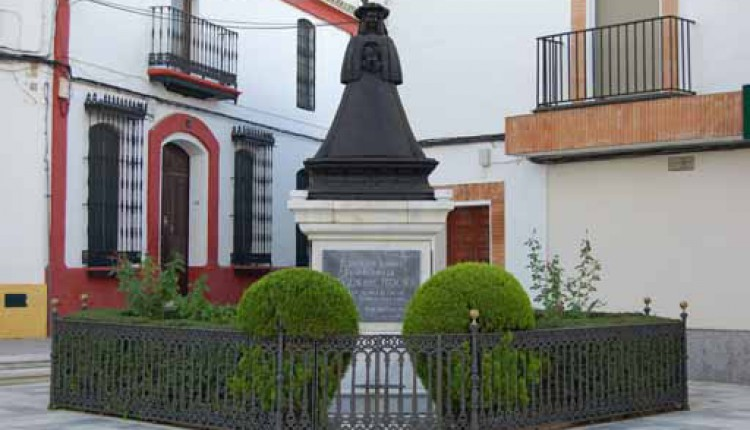 Inauguración del Monumento de a Ntra. Sra. de Pastora en Almonte – Vídeo