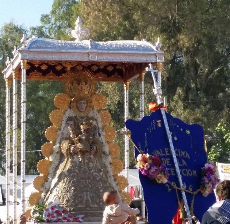 Valencina procesion Virgen 2016-1