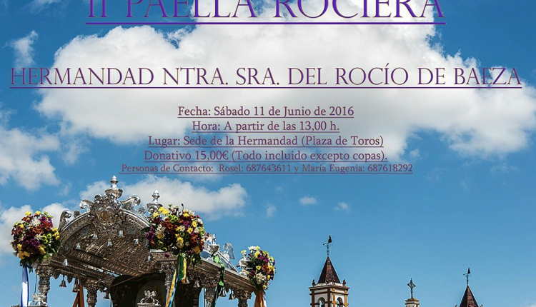Hermandad de Baeza – II Paella Rociera