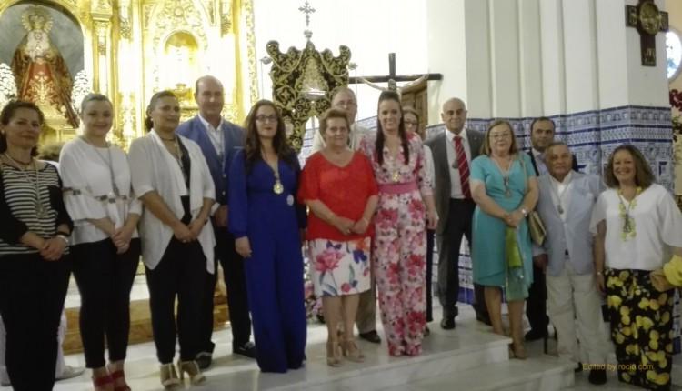 Hermandad de Isla Cristina – Celebrada la Misa de Acción de Gracias, ya tenemos Hnas. Mayores 2017