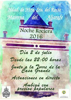 Mairena del Aljarafe noche rociera