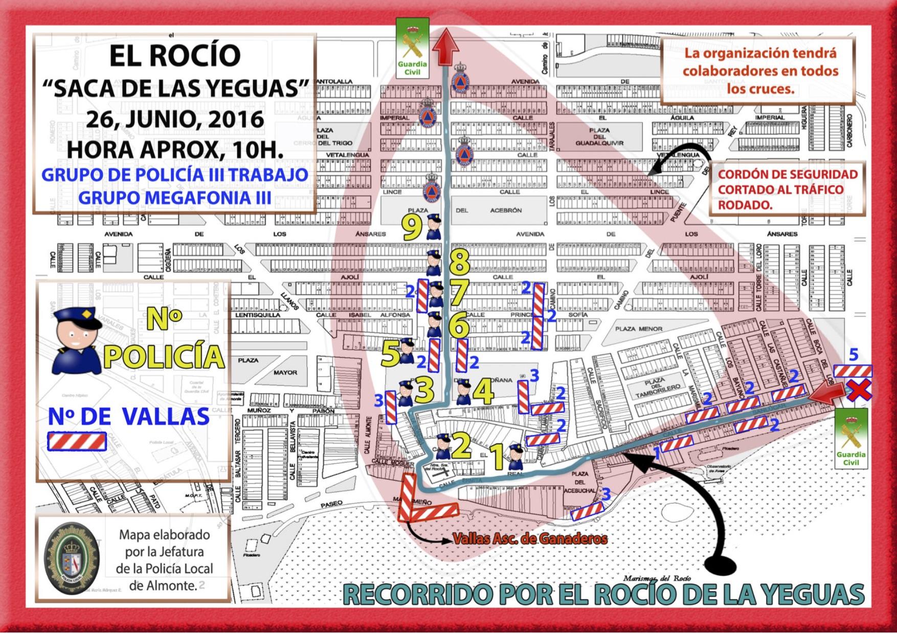 RECORRIDO-SACA-YEGUAS-POR-EL-ROCIO-CORDON-SEGURIDAD