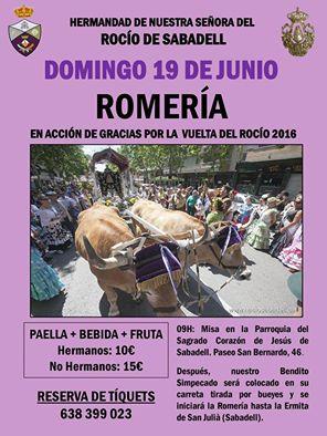Sabadell romeria