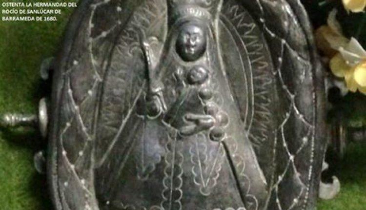 Báculo histórico de la hermandad de Sanlúcar de Barrameda por Javi el Almonteño