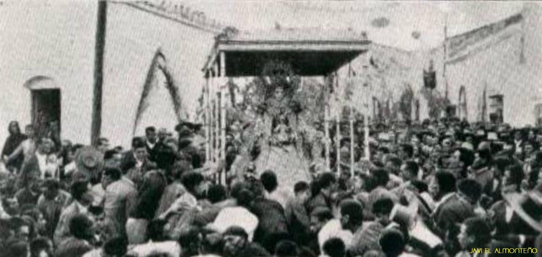 Virgen en Almonte 1920