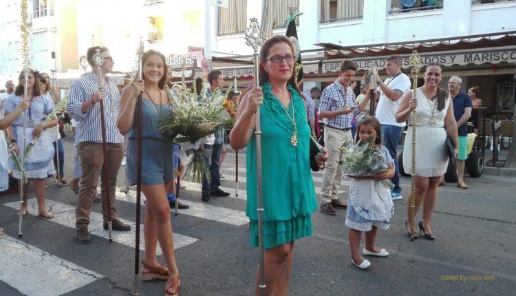 Hermandad de Isla Cristina – OFRENDA DE FLORES A LA VIRGEN DEL MAR