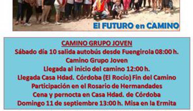 Hermandad de Fuengirola – Peregrinación del Grupo Joven