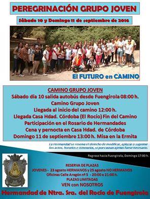 Peregrinacion joven Fuengirola