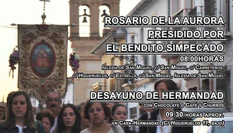 Hermandadde Antequera – Rosario de la Aurora Festividad de San Miguel