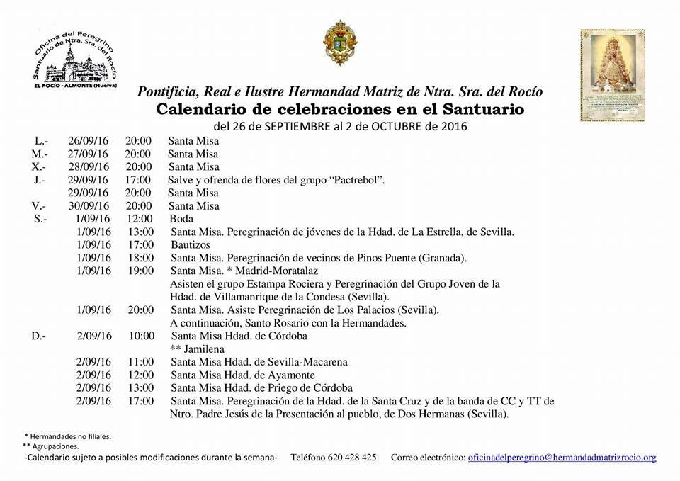 calendario-rocio-del-26-09-al-2-10