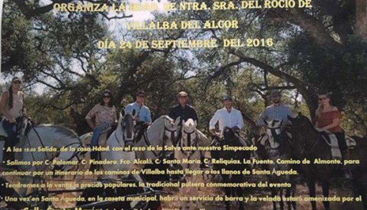 Hermandad de Villalba del Alcor – V Paseo ecuestre