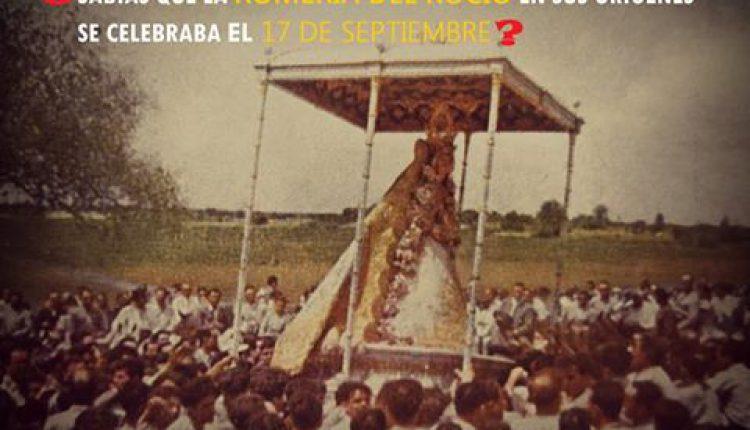 ¿Sabías que la Romería del Rocío se celebraba el 17 de septiembre? por Javi el almonteño