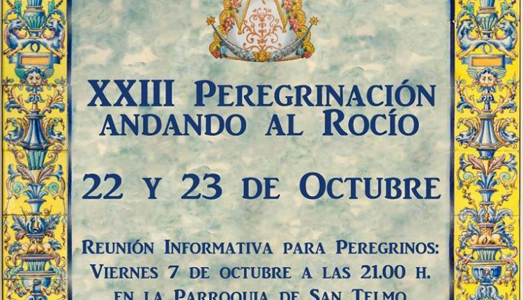 Hermandad de Chiclana – XXIII Peregrinación Andando al Rocío
