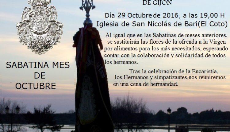 Hermandad de Gijón – Sabatina