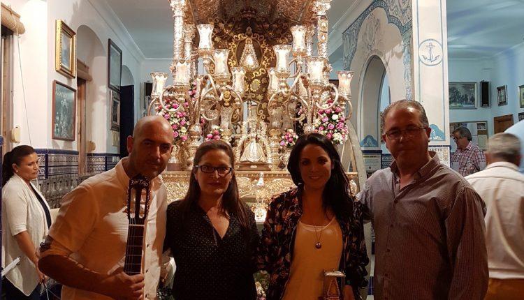 Hermandad de Isla Cristina – ALBA CASADO CANTA LA SALVE