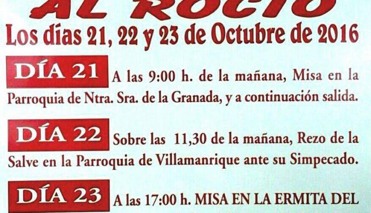 Hermandad de Puebla del Río – XXXII Peregrinación a Pie al Rocío