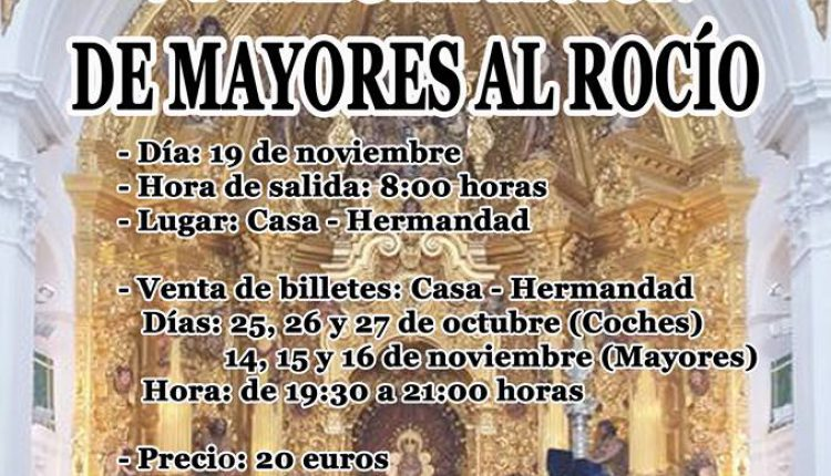 Hermandad de Benacazón – Peregrinaciòn de Mayores al Rocío